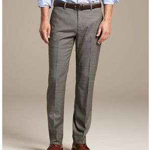 🔥BANANA REPUBLIC SLIM FIT WOOL CREASED PANTS🔥